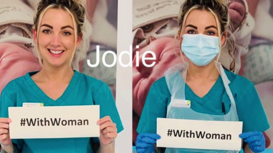 #WithWoman – How the Maternity Department at RCHT has been supporting women and families during Covid-19
