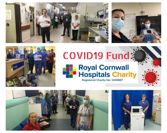 Donations to Covid19 Fund support staff well being