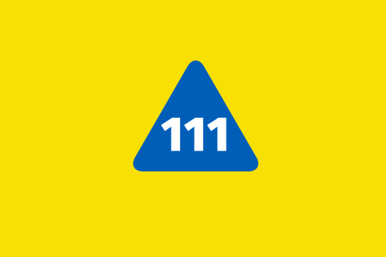Do you need urgent NHS care in Cornwall? Then contact NHS 111