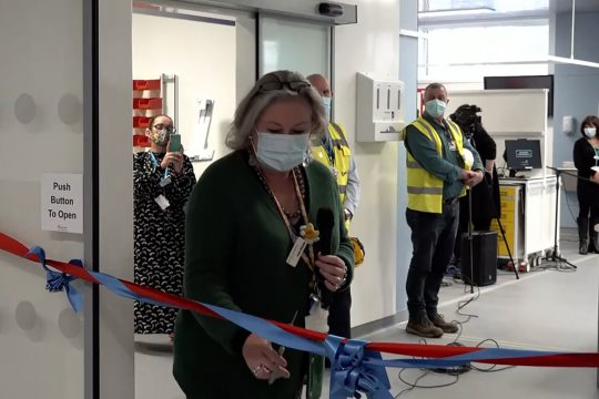 New resus ready to welcome first patients