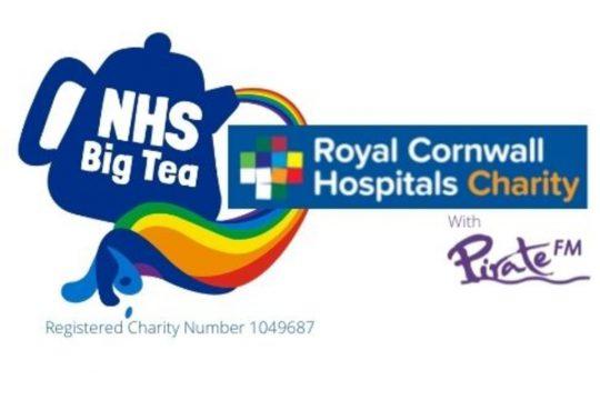 Logo - NHS Big Tea, Royal Cornwall Hospitals Charity